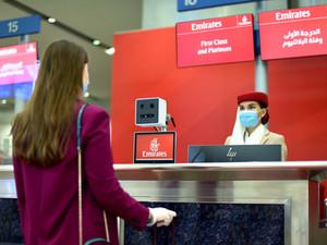 Эмирейтс открыла биометрический коридор в Международном аэропорту Дубая