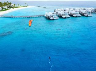 Рай для серферов в LUX* North Male Atoll