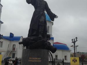 В Малоярославце открыт памятник участнику Отечественной войны 1812-го года, священнику Василию Васил