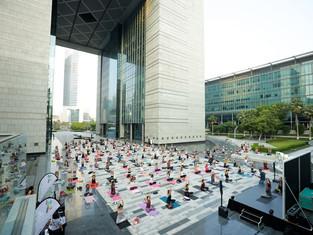 29 октября в Дубай вернется пятый по счету фитнес-марафон Dubai Fitness Challenge