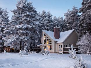 Парк-отель «Бухта Коприно»: новогодние праздники в семейном кругу на берегу Волги в уютных котеджах