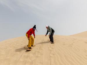 Сноубордисты меняют снежные склоны на катарские песчаные дюны