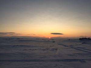 На Земле Франца-Иосифа закончилась полярная ночь