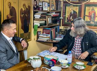 Как Федор Конюхов учил Юрия Трутнева на гору всходить