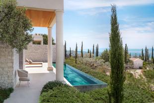 Отель Amanzoe, Греция - стильные виллы от мирового архитектора Эда Таттла