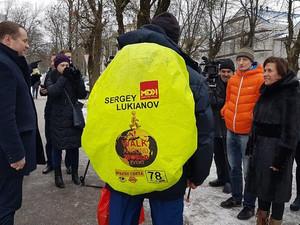 Сергей Лукьянов из Питера обошел всю планету пешком!