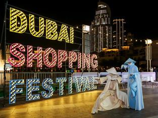Несколько дней  до 12-часовой распродажи в рамках ежегодного Дубайского торгового фестиваля