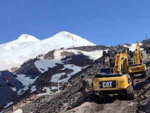 На «Эльбрусе» строится новая горнолыжная трасса