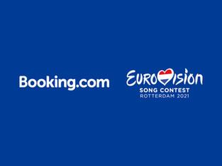 Компания Booking.com стала официальным партнером конкурса песни Евровидение-2021