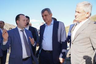 Хасан Тимижев презентовал план развития  курорта «Мамисон» в горах