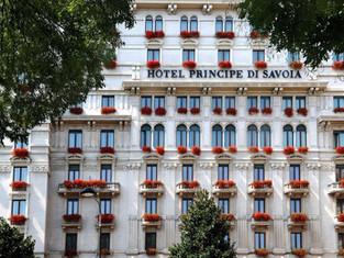 Hotel Principe di Savoia, Милан - без малого 100 лет!