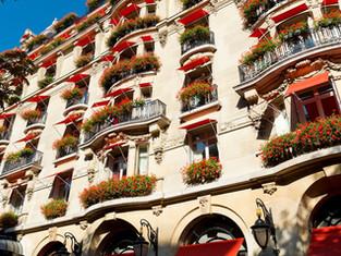 Hôtel Plaza Athénée - парижские тонкости ар-деко