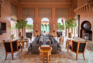 Восточная сказка в отеле Amanjena в Марокко