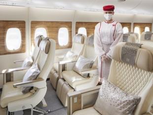 Эмирейтс представила Премиальный Экономический класс в салонах A380