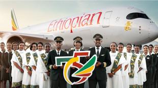 Авиакомпания Ethiopian Airline отмечает свое 75-летие