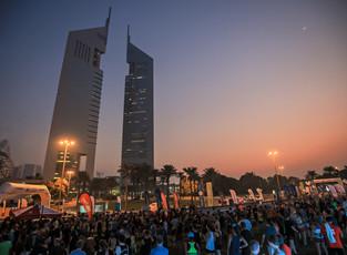 Шоссе шейха Зайеда превратится в площадку для забега в рамках акции Dubai Fitness Challenge