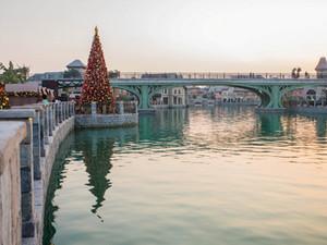Новогодние праздники в Dubai Parks and Resorts: резиденция Санта-Клауса в пустыне