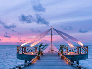 День всех влюбленных на Мальдивах, в Fairmont Maldives Sirru Fen Fushi