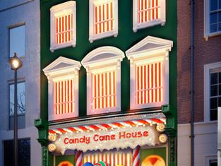 Booking.com представляет «Карамельный домик» — самое сладкое жилье в мире