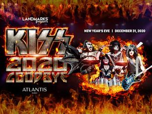 Atlantis, The Palm в Дубае встречает Новый Год вместе с группой Kiss