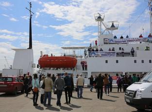Плавучий университет отправился в Русскую Арктику