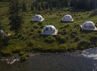 Алтайские палатки мамонтов