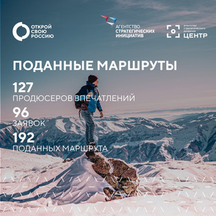 Осталось 5 дней, чтобы стать автором идеи туристической локации для конкурса «Открой свою Россию»