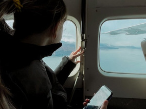 Лучшие участники  «Эмбукай-2021» совершили экскурсионный полет самолетом «Авиакомпании Камчатка»