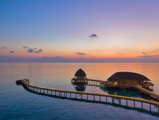 Самый романтичный ужин в отеле Faarufushi Maldives