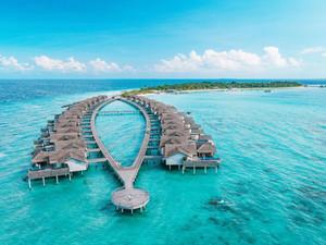 "Fairmont Maldives Sirru Fen Fushi: остров в стиле ""Баунти"" на Мальдивах"