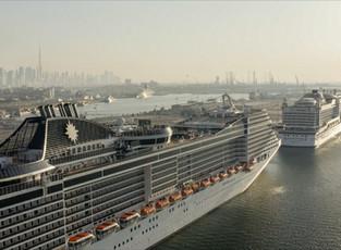 Количество круизных туристов в Дубае возросло на 51%