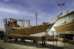 В Катаре приступили к восстановлению флота исторических деревянных парусников дау