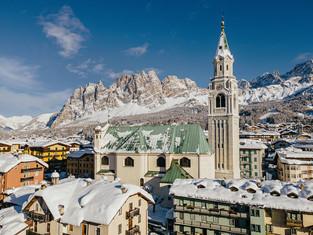 Чемпионат мира по горнолыжному спорту в Кортине, Италия.