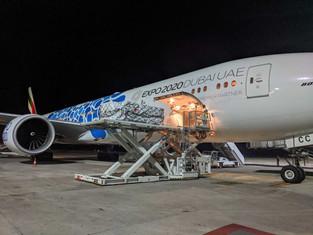 Эмирейтс открыла гуманитарный воздушный мост в Индию