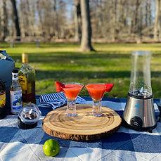 Strawberry- Lime Margarita!