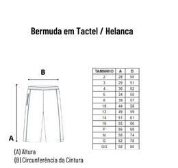 Bermuda em tactel / Helanca