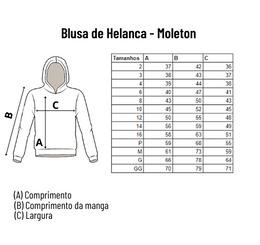 Blusa de Helanca Moletom