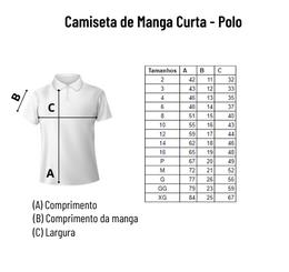 Camiseta de Manga Curta Polo