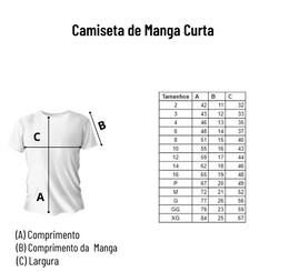 Camiseta de Manga Curta