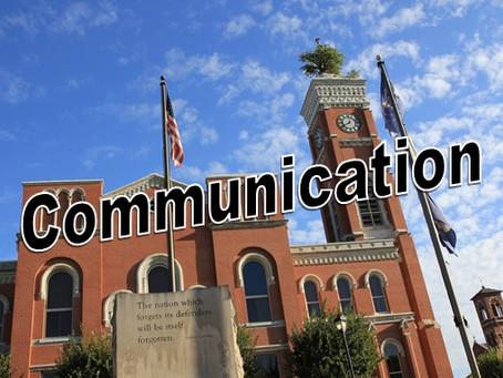 Was Communication Key to Virus Mitigation?