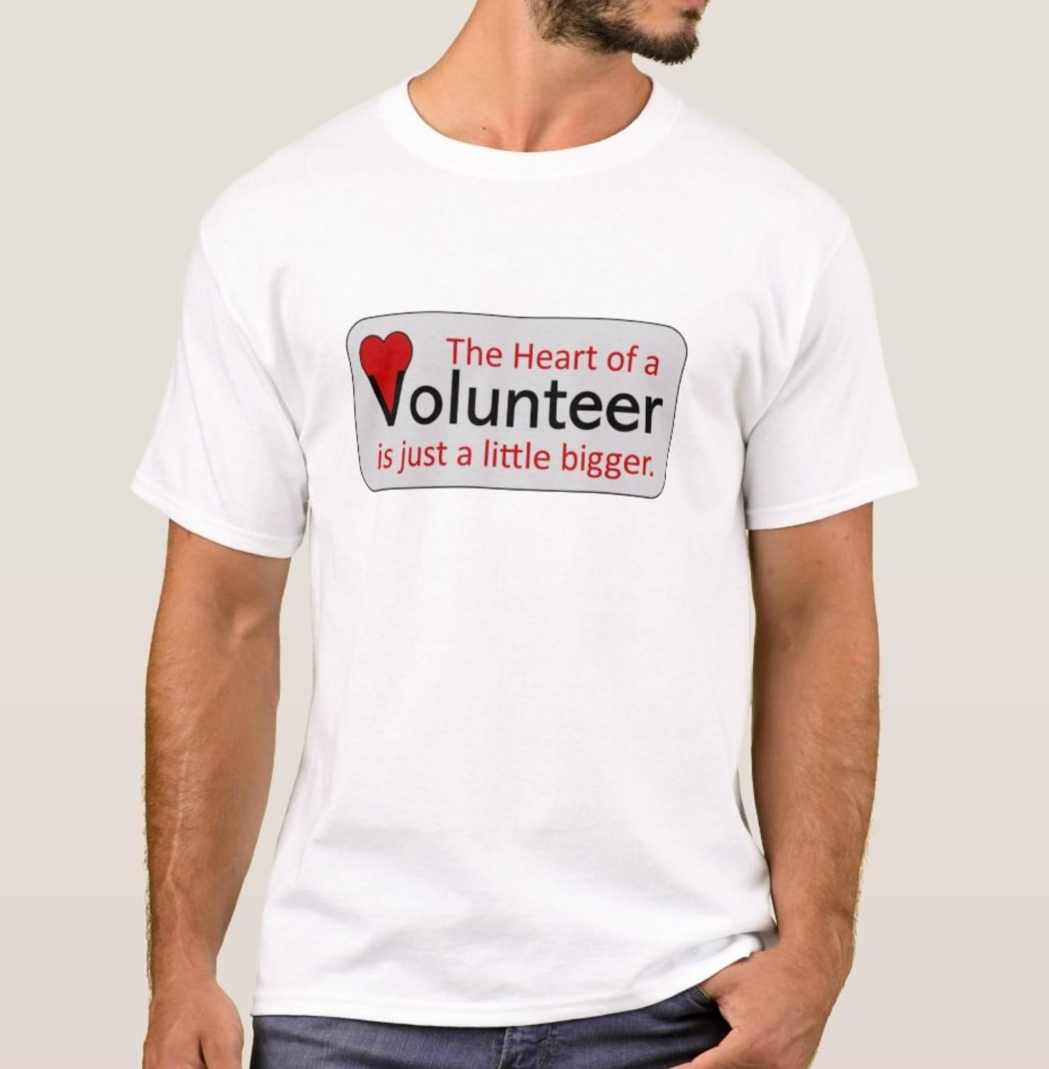 Volunteer Heart Shirt