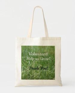 Volunteers Tote Bag