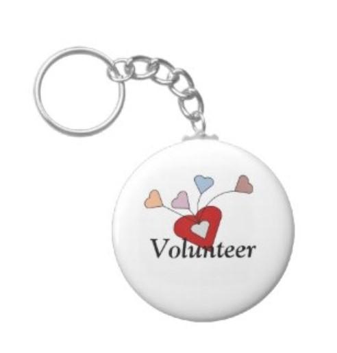 Volunteer Appreciation Key Chain