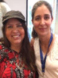 Vianna Stibal e Ana Paula Fuchs Amaral