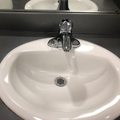 Sink After Cleaned