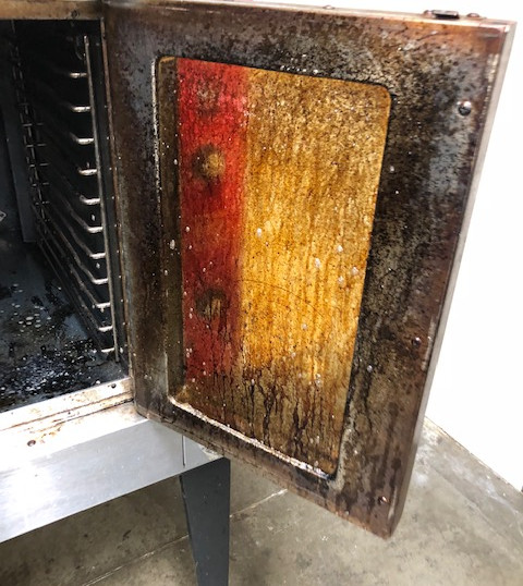 Routine Oven Clean at Event Center