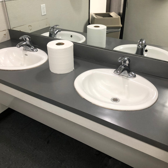 After Sink and Counter Clean