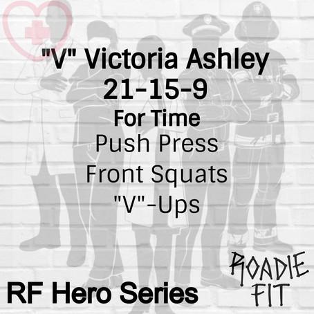 """""""V"""" Victoria Ashley RN"""
