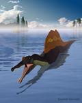 Spinosaurus in deepwater