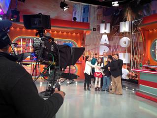 Pedro Pan Director and Cast visit America Teve's El Happy Hour